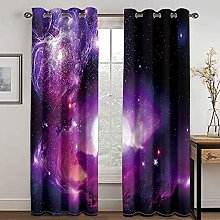 YUANCHENG Home Star Printing Curtain Is Suitable