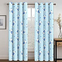 YUANCHENG Lovely Bear Curtain Living Room Bedroom
