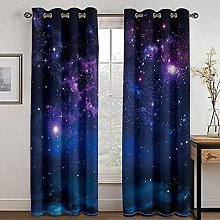 YUANCHENG Star Print Shading Curtain Is Suitable