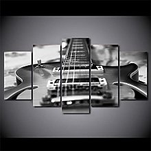YUANJUN 5 panel Wall Pictures For Music Room Decor