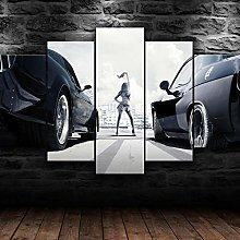 YUANJUN Furious Racing5 Parts Modern Stretched And