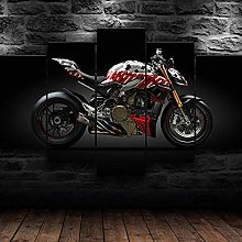 YUANJUN Sports Motorcycle 5 Parts Modern Stretched