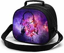 Yuanmeiju Galaxy Purple Children's Meal Bag