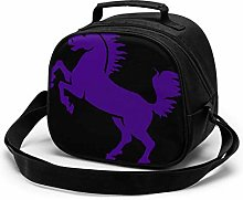 Yuanmeiju Horses Purple Lilac Girls Sweet Cowgirl