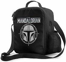 Yuanmeiju Large Mandalorian Lunch Box Handbag