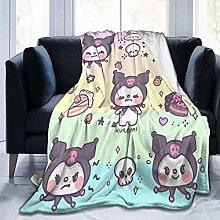 Yuanmeiju My Melody and Kuromi Blanket Super Soft