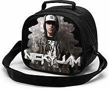 Yuanmeiju Nicky Jam Children's Lunch Bag Boy
