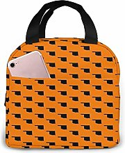 Yuanmeiju Oklahoma State Orange Lunch Bag