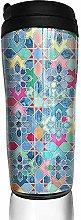 Yuanmeiju Pretty Pastel Moroccan Tile Mosaic Water