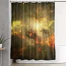 Yuanmeiju Shower Curtain with Hooks Durable