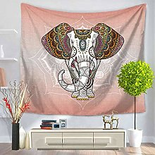 YUANOMWJ 3D Tapestry Wall Hanging,Ethnic Pattern