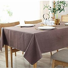 YUBIN Oval Tablecloth Black Paper Tablecloths For