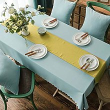 YUBIN Tablecloth Large Rectangle Tablecloth Round