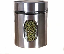 YUEMING Canisters,Kitchen Canister, Stainless