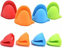 Yueser 8 pcs Silicone Pinch Mitts, Heat Resistant
