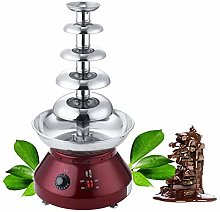 YUEWO Chocolate Fountain 5-Tier 61.3cm Chocolate