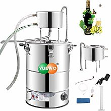 YUEWO Home Alcohol Still Wine Making kit Water