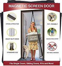 YUFER Magnetic Screen Door 30×80 Reinforced