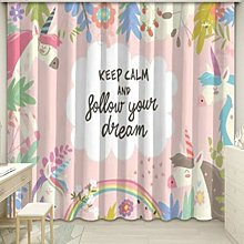 yug Curtain modern princess style girl bedroom