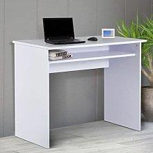 YUHAOTIN Computer Desk with big Tier Storage