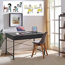 YUHAOTIN Computer Desk, Writing Study Desk with 2