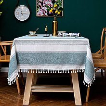 YuHengJin Modern Table Cloths Table Covers Tassels