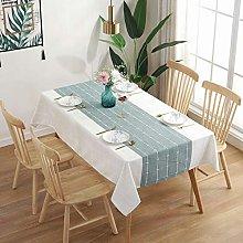 YuHengJin Oblong Rectangular Table Cloths Cotton