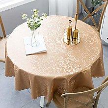 YuHengJin Pattern Waterproof Table Cloth Pvc