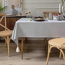 YuHengJin Rectangular Tablecloth Dining Table