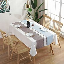 YuHengJin Rectangular Tablecloth Stain Proof