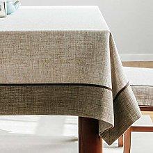 YuHengJin Shop Rectangle Tablecloth Fabric Cotton