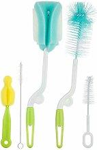 YUIO® Bottle Brush Set of 5 Baby Products 360