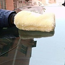YUIO Car Microfiber Plush Mitt Car Wash Glove