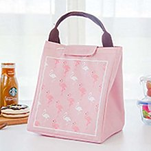 YUIO Cute Cartoon Flamingo Lunch Bag Thermal