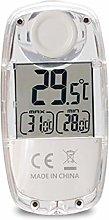YUIO LCD Digital Solar Power Window Thermometer