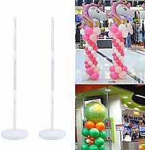YUIP 2 Pcs Balloon Column Stand Kits Arch Stand,