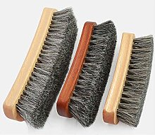 YUJIAN Shoe Polish Kit Natural Soft Horsehair
