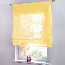 Yujiao Mao 1Pcs Tab Top Roman Blinds Kitchen