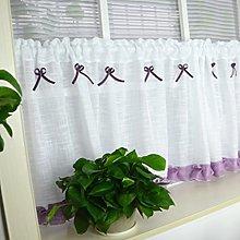 Yujiao Mao Cotton Linen Cafe Curtain Kitchen