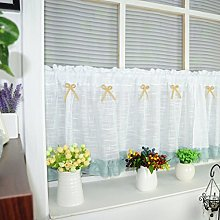 Yujiao Mao Cotton Linen Cafe Curtain Kitchen