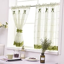 Yujiao Mao Pastorale Art Panel Curtain Linen Yarn