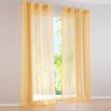 Yujiao Mao Voile Curtain Eyelet Curtains Plain