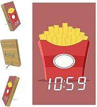 Yumansis Cartoon Funny Chips LED Digital Alarm