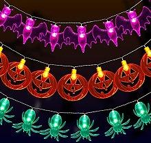 yumcute Halloween Decorations Lights, Set of 3