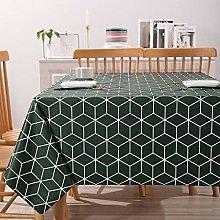 Yumhouse Tablecloth Rectangle Table Cover,Plaid