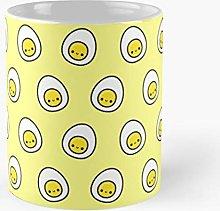 Yummy Egg Classic Mug - Novelty Ceramic Cups 11oz,