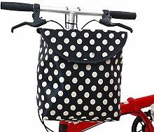 yummyfood Bicycle Front Basket Waterproof Folding