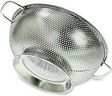 YumSur Colander, Stainless Steel Kitchen Strainer