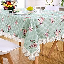 YUMUO Polyester Lace Tablecloth,For Kitchen