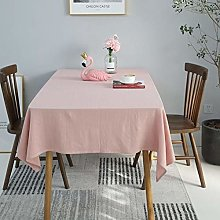 YUMUO Rectangle Solid Color Tablecloth,Washable